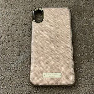 Kate Spade IPhone XS phone cover